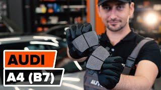 Montage Kit de roulement de roue AUDI A4 (8EC, B7) : vidéo gratuit