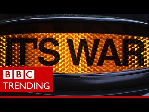 Ubered - How some black cab drivers started an online war with Uber - BBC Trending