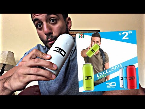 3D ENERGY DRINK BY CHRISTIAN GUZMAN - REACTION - Taste test honest opinions