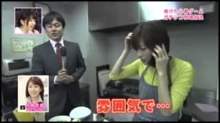 素人料理丸出しの林アナと中谷アナがガチンコ料理対決!特選素材、テレ...