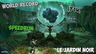 """WR! """"The Black Garden"""" Duo Speedrun (7'14)"""