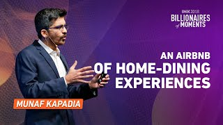 Gambar cover Munaf Kapadia: An Airbnb of home-dining experiences