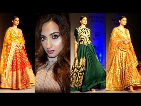 Vlog : Come With Me to the Runway Bridal Fashion Show! | Aishwarya Kaushal