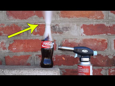 Thumbnail: COCA-COLA VS GAS TORCH