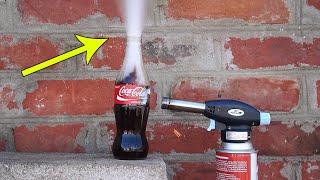 COCA-COLA VS GAS TORCH