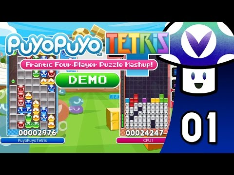 [Vinesauce] Vinny - Puyo Puyo Tetris: Demo (part 1)