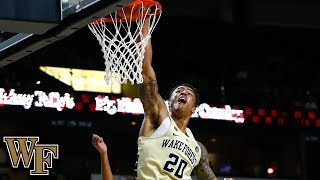 John Collins' Best Dunks at Wake Forest