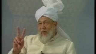 Liqa Ma'al Arab 17th September 1996 Question/Answer English/Arabic Islam Ahmadiyya