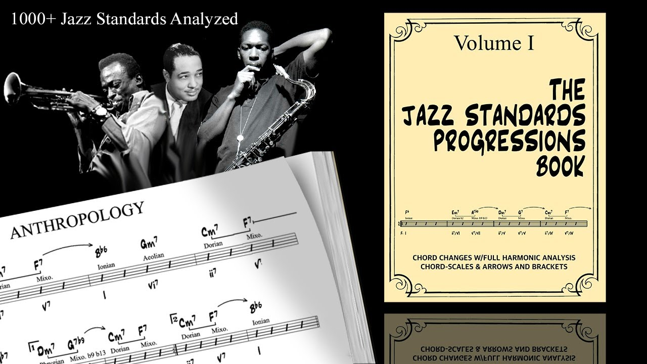 The Jazz Standards Progressions Book (PDF version)