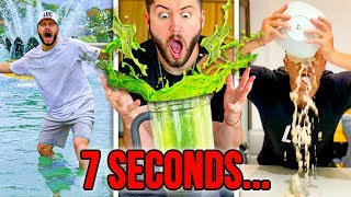 MOST EPIC 7 SECONDS CHALLENGE ON THE INTERNET! (Part 2)