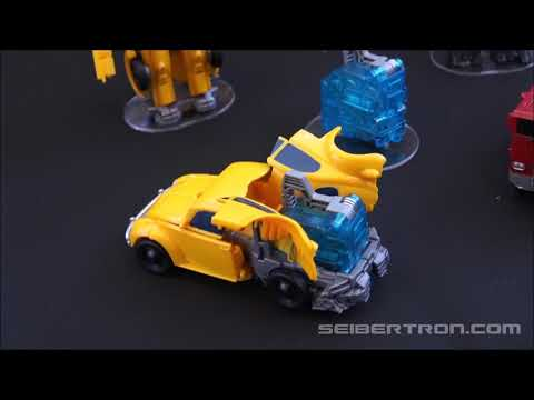Transformers BUMBLEBEE Movie product reveals at SDCC 2018