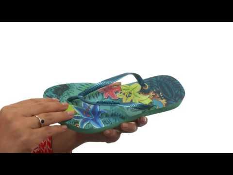 Havaianas Slim Tropical Flip Flops  SKU:8671273