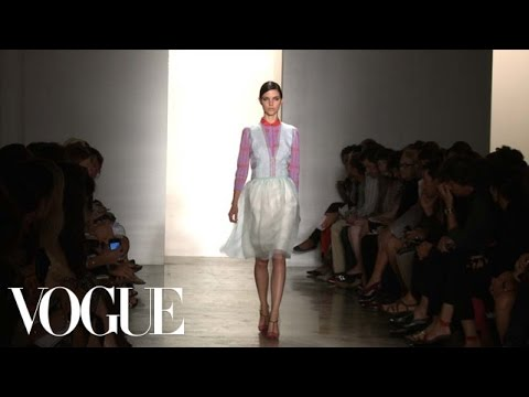 Sophie Theallet Ready to Wear Spring 2013 Vogue Fashion Week Runway Show