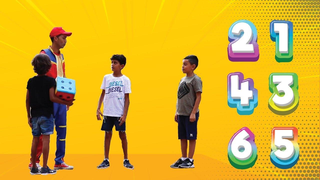 عمو صابر ولعبه المكعب - amo saber and playing the cube