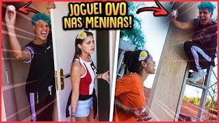 QUEBREI OVOS EM TODOS DA CASA 24H!! - TROLLANDO AMIGOS [ REZENDE EVIL ]