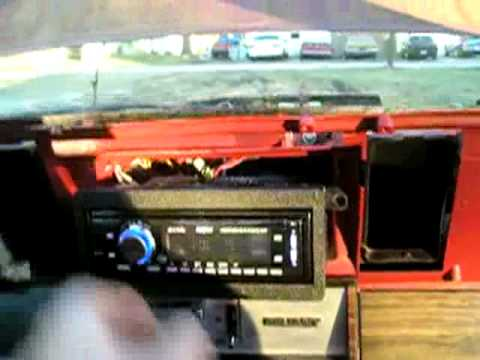 1984 Plymouth Reliant Radio Installation - YouTube