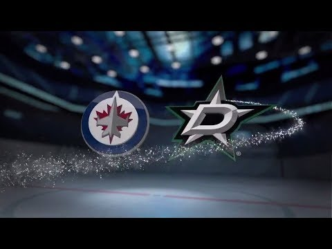 Winnipeg Jets vs Dallas Stars - November 06, 2017 | Game Highlights | NHL 2017/18. Обзор матча