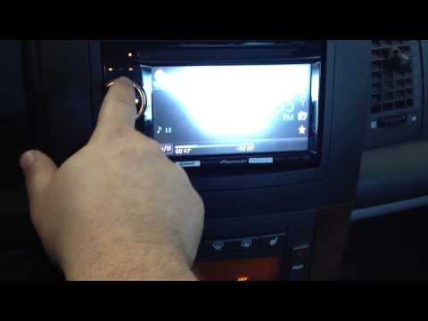 Cadillac Cts Pioneer Double Din 2 Jl Audio 12w6v2 Ported