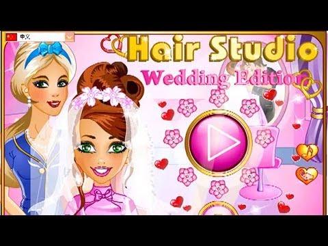 Видео игра,  Свадебная прическа невесты, обзор игры