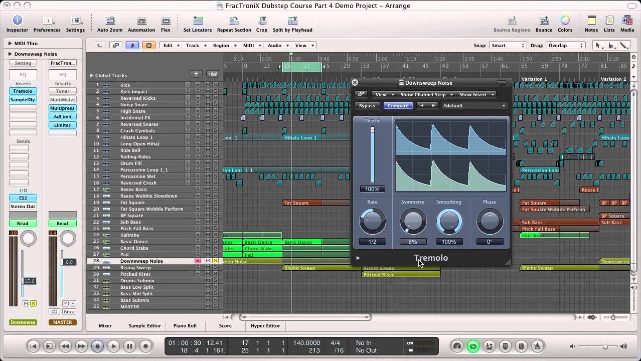 Learn to Mix and Master Dubstep - Online Music Production Course