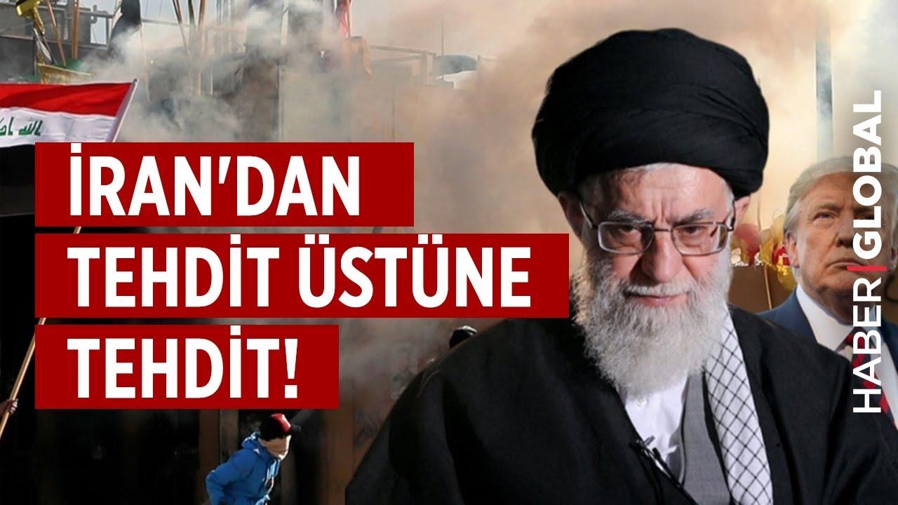 İran'dan ABD'ye Tehdit Üstüne Tehdit! Halk Sokaklara İndi!
