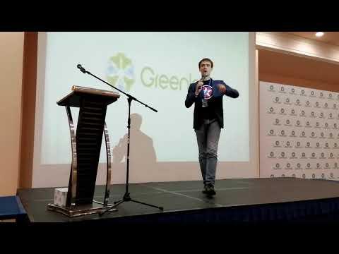 Грандиозное выступление Александра Маркова, лидера и куратора бизнеса GreenLeaf в Казахстане!