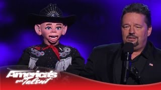Terry Fator - Season 2 Winner Returns To AGT Stage - America's Got Talent 2013
