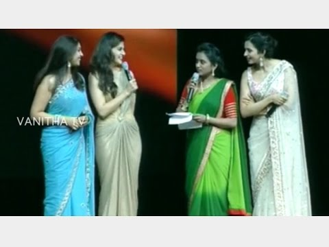 Anchor Suma Comedy with South Indian Actresses at TANA 20th Convention | Vanitha TV