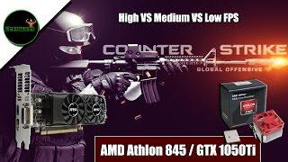 CS:GO- Athlon x4 845/ GTX 1050Ti Low Profile/ Micro ATX Pc