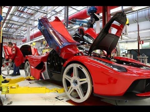 How Automotive Production Lines Work|  Ferrari  Factory
