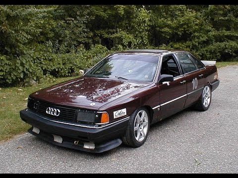 Insane Audi 5000 engine sounds - YouTube