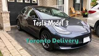 A Canadian Model 3 Delivery (Bonus at the end)