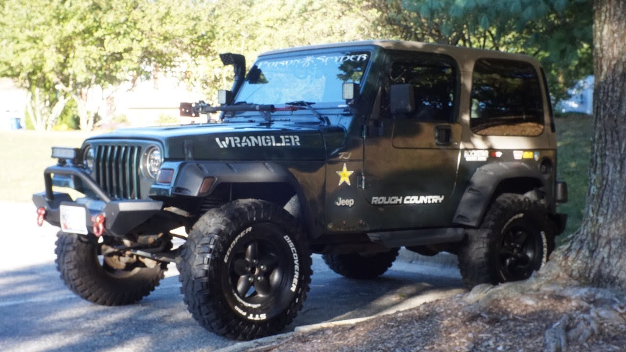1999 Jeep Wrangler Tj Build Youtube