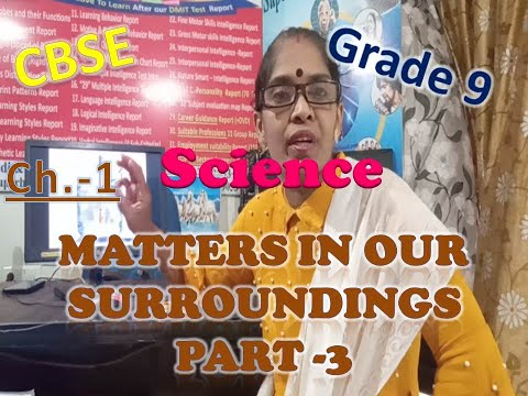 std-9,-sci.,-ch.-1,-matters-in-our-surroundings,-part-3,-change-in-state-of-matter,-by-mrs-vidya.