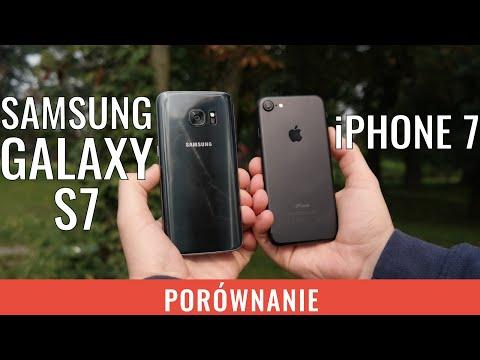 iPhone 7 vs Galaxy S7 - porównanie, test PL