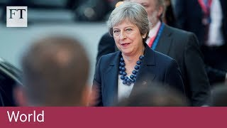 Theresa May urges EU to 'evolve' position on Brexit