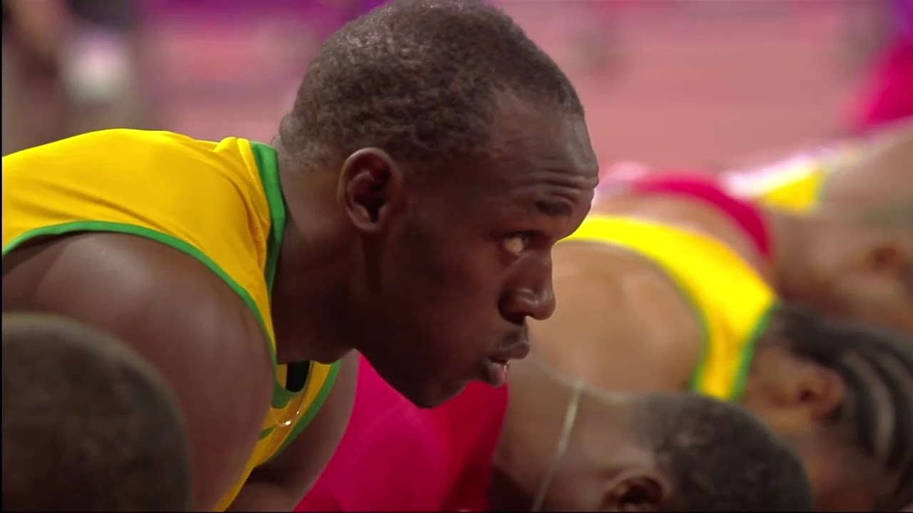 Usain Bolt 100M London 2012 Olympics - YouTube