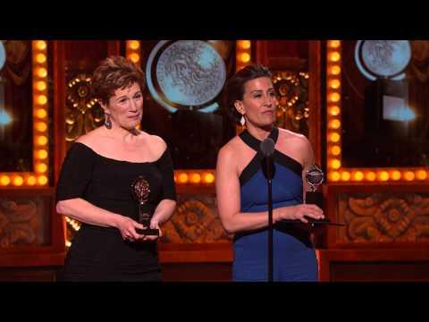 Acceptance Speech: Jeanine Tesori & Lisa Kron (2015)