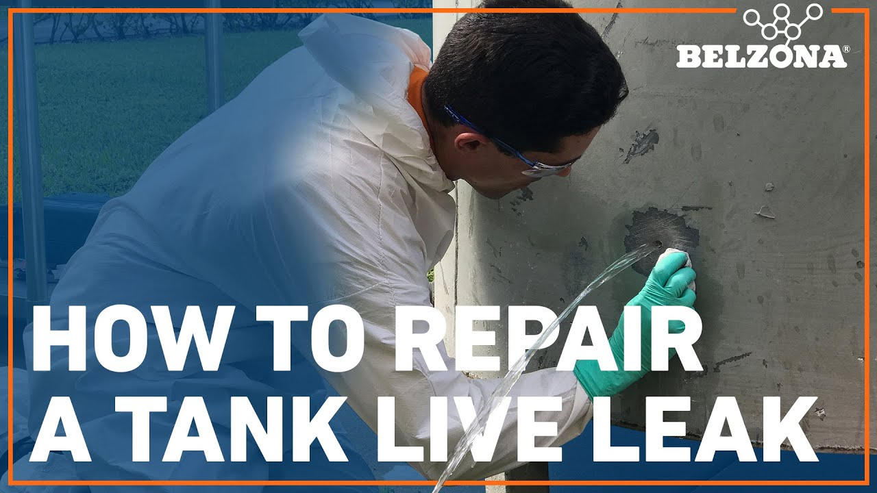 How To Stop And Repair A Tank Live Leak