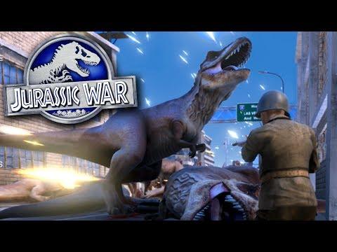 JURASSIC WAR!!! | Ultimate Epic Battle Simulator HD