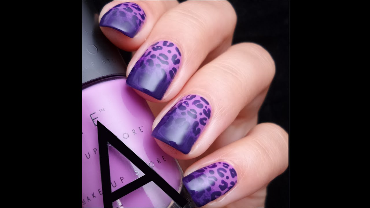 purple cheetah print nails - Redbul.energystandardinternational.co