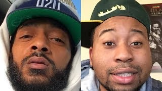 Nipsey Hussel CHECKS DJ Akademiks Again