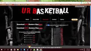 Como Actualizar La NBA 2K14 & 2K13 A LA NBA 2K16 Para PC
