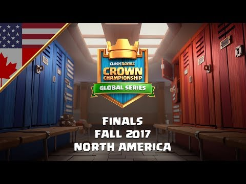 Clash Royale: Crown Championship NA Fall Finals | Fall 2017