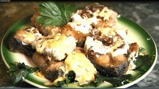 Как пожарить карпа в сметанном соусе, Как вкусно приготовить карпа в сметане