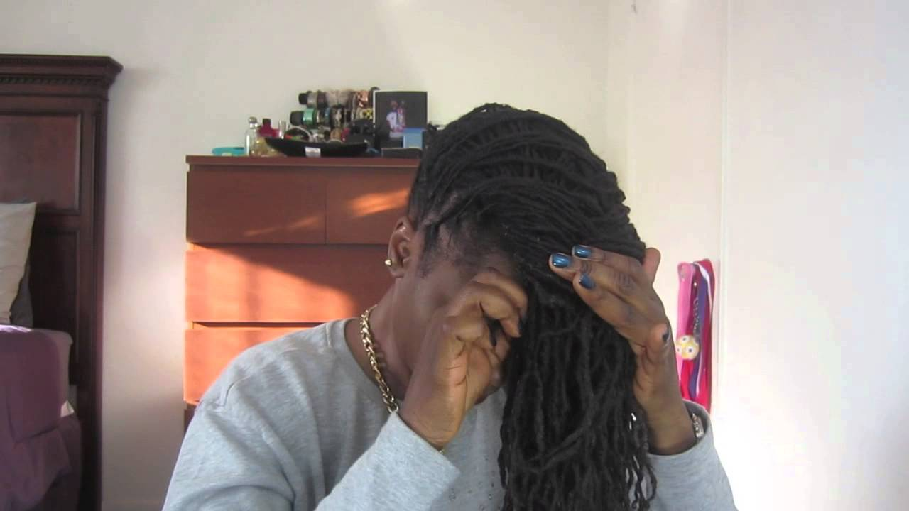 Howto Do Basket Weave With Locs Youtube