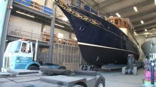 Front Street Shipyard launches Atlantide