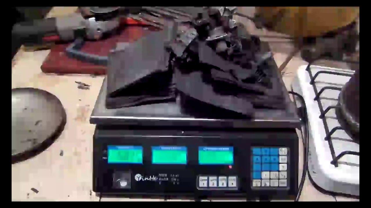плавка свинца из автомобильного аккумулятора
