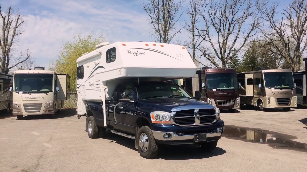 small resolution of 2005 bigfoot truck camper at sicard rv