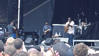 "Vusi Mahlasela - ""Say Africa"" @ DMB Caravan (Atlantic City) - 6.25.11"